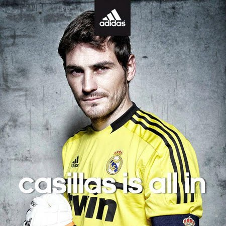 Casillas y Adidas