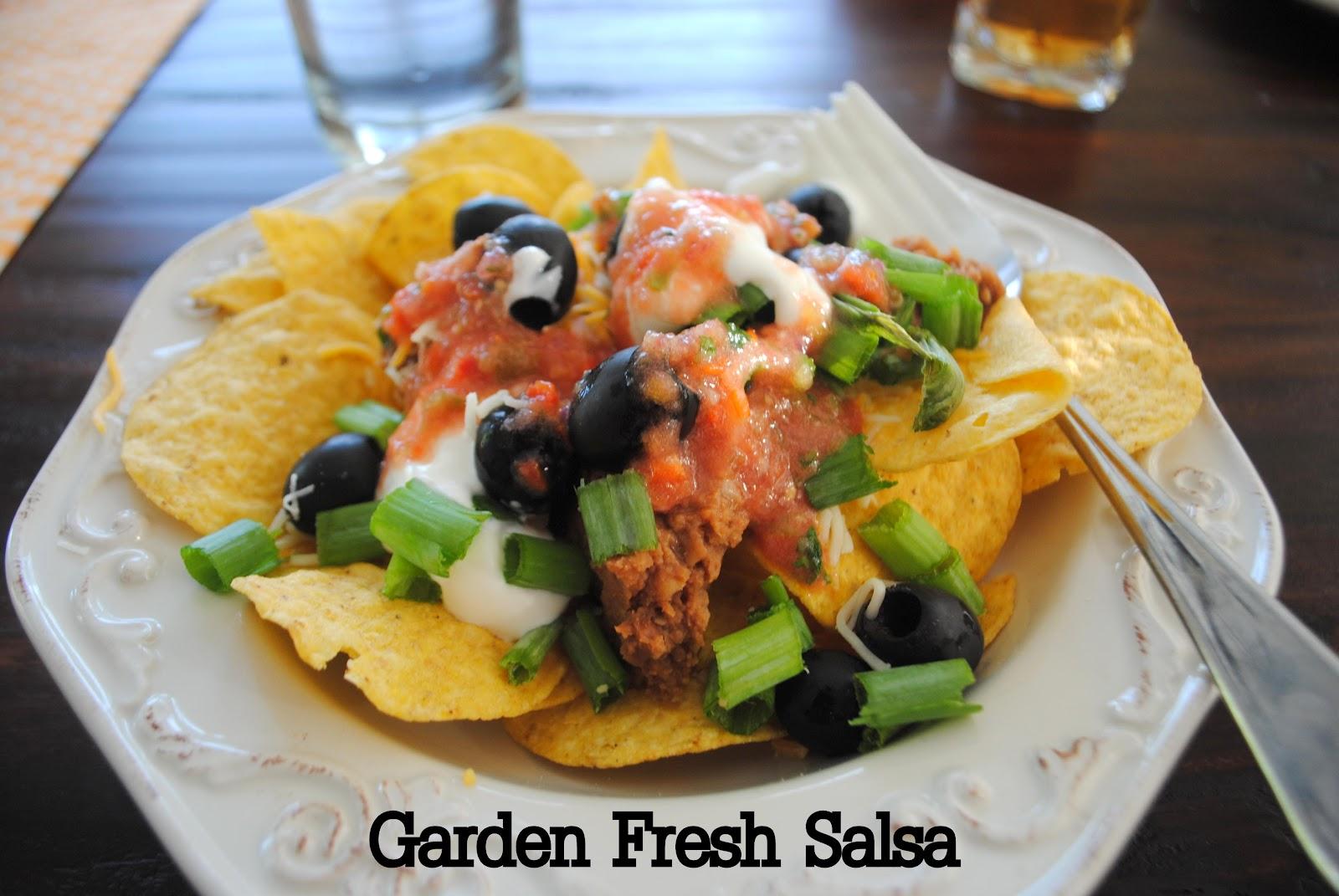 ThriceTheSpice: Garden Fresh salsa