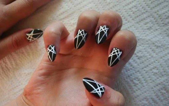 Star Nail, Black and White