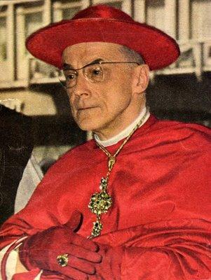 Cabeza de los Cardenales infiltrados e Illuminati en el C.V.II