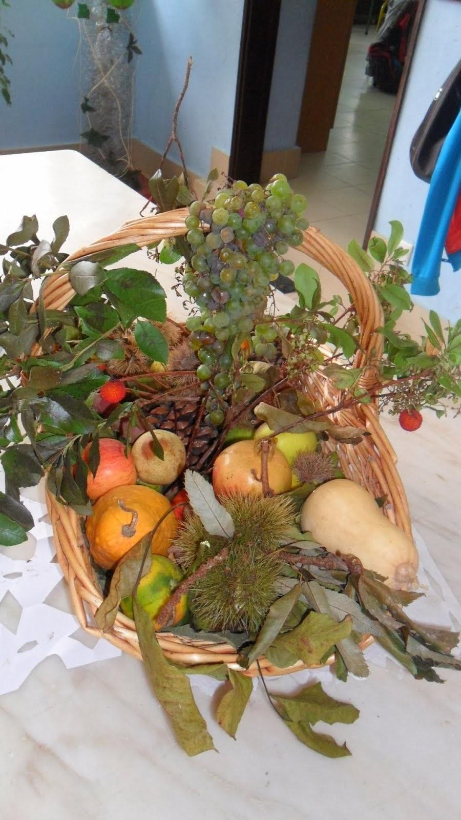 A cesta do outono