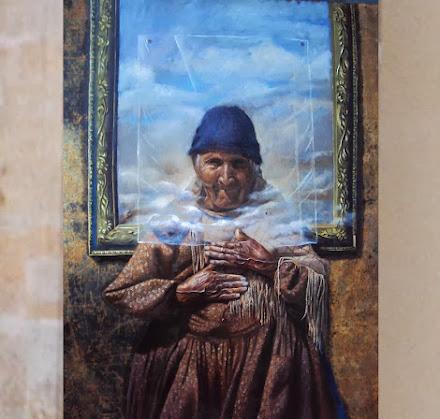 PINTURAS DE ROSMERY MAMANI VENTURA (artista alteña, 1985)