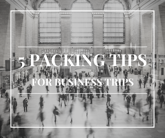 business trips, packing tips