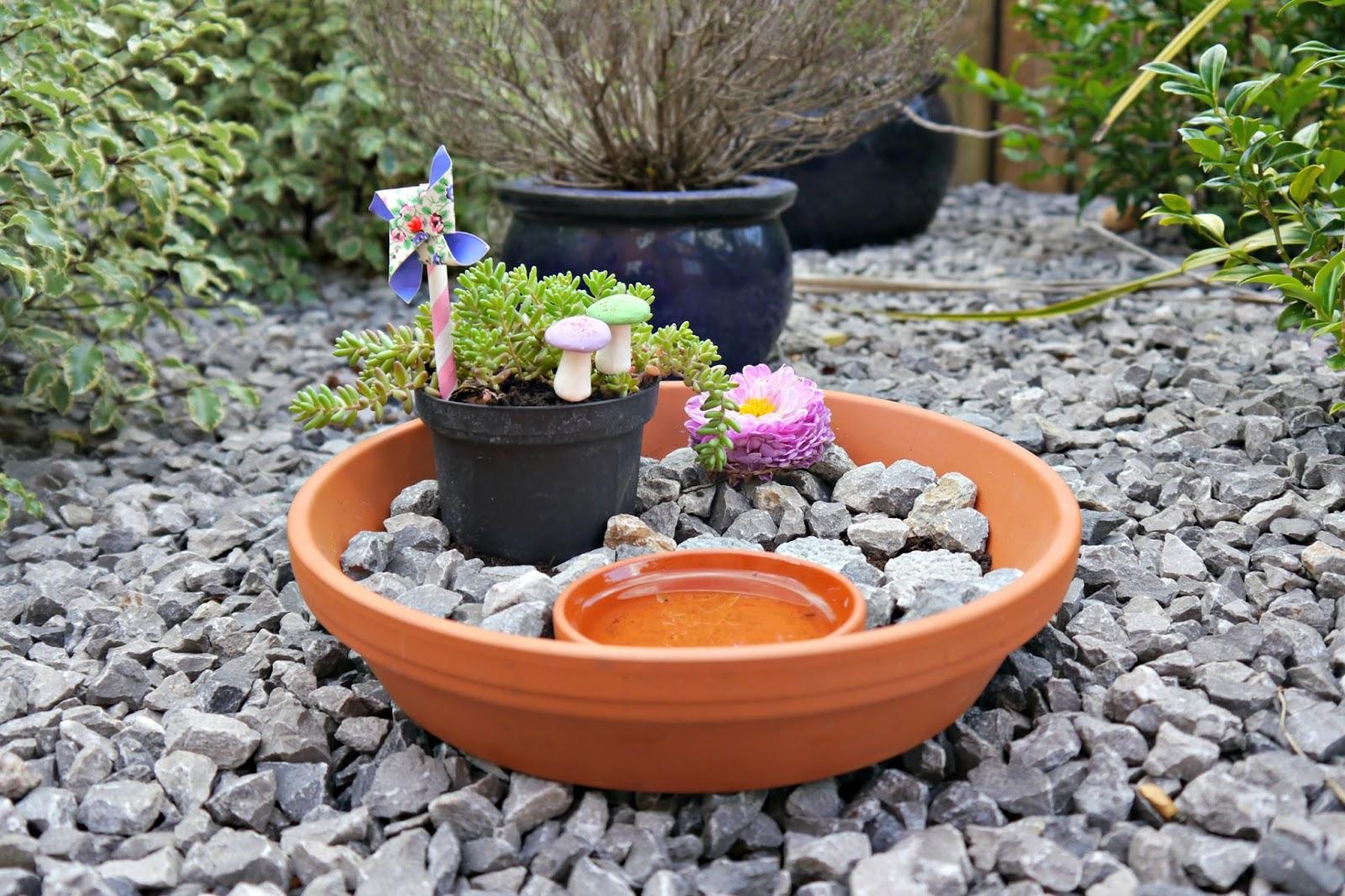 Simple DIY Fairy Garden The Mummy Diary