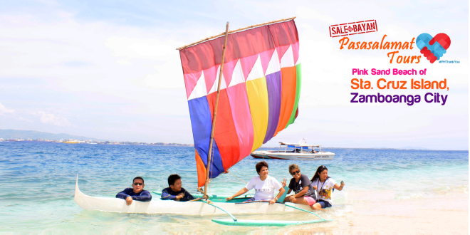 The 25th Philippine Travel Mart: Sta. Cruz Island Zamboanga City Pasasalamat Tour