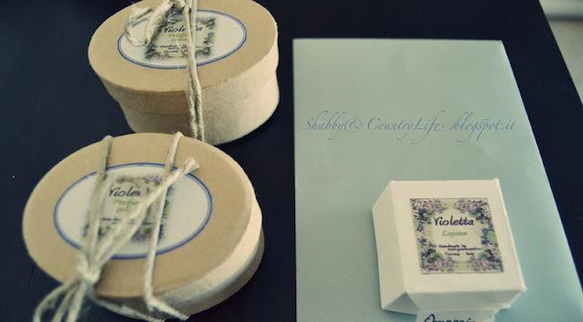 Profumo Solido di Violette- shabby&countrylife.blogspot.it