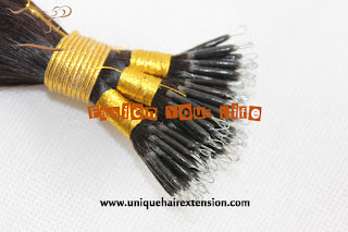 Virgin remy hair extensions nano ring