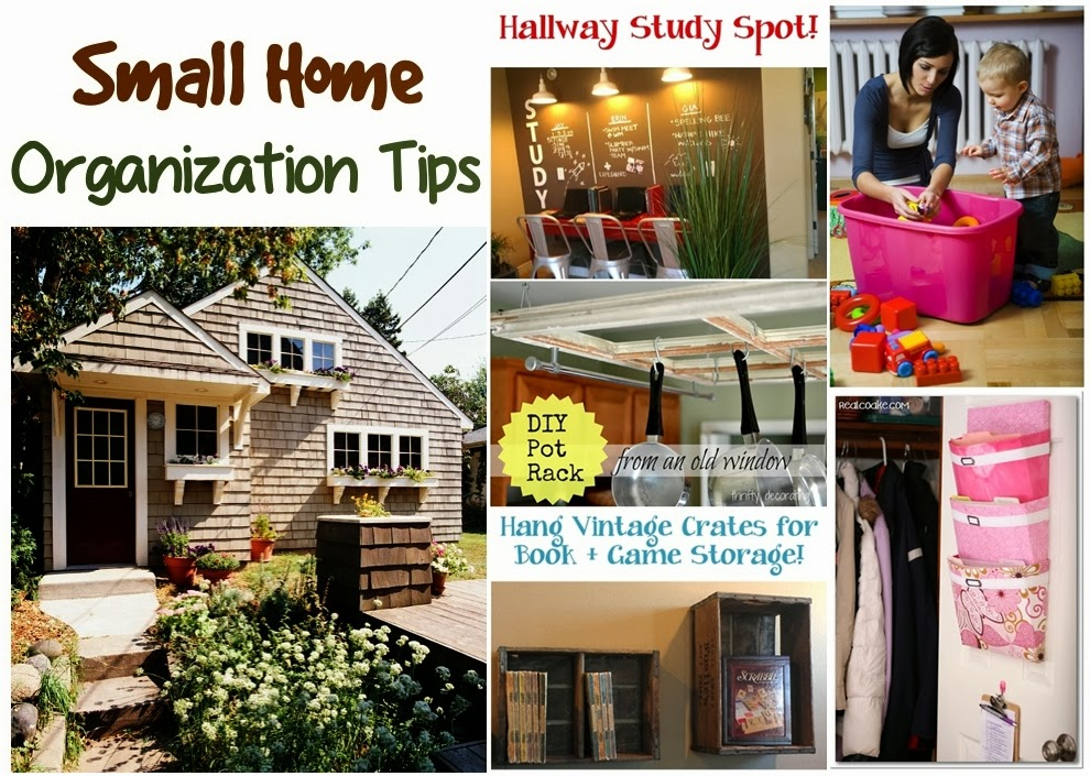 Big list of small home organization tips diy craft projects Small home organization