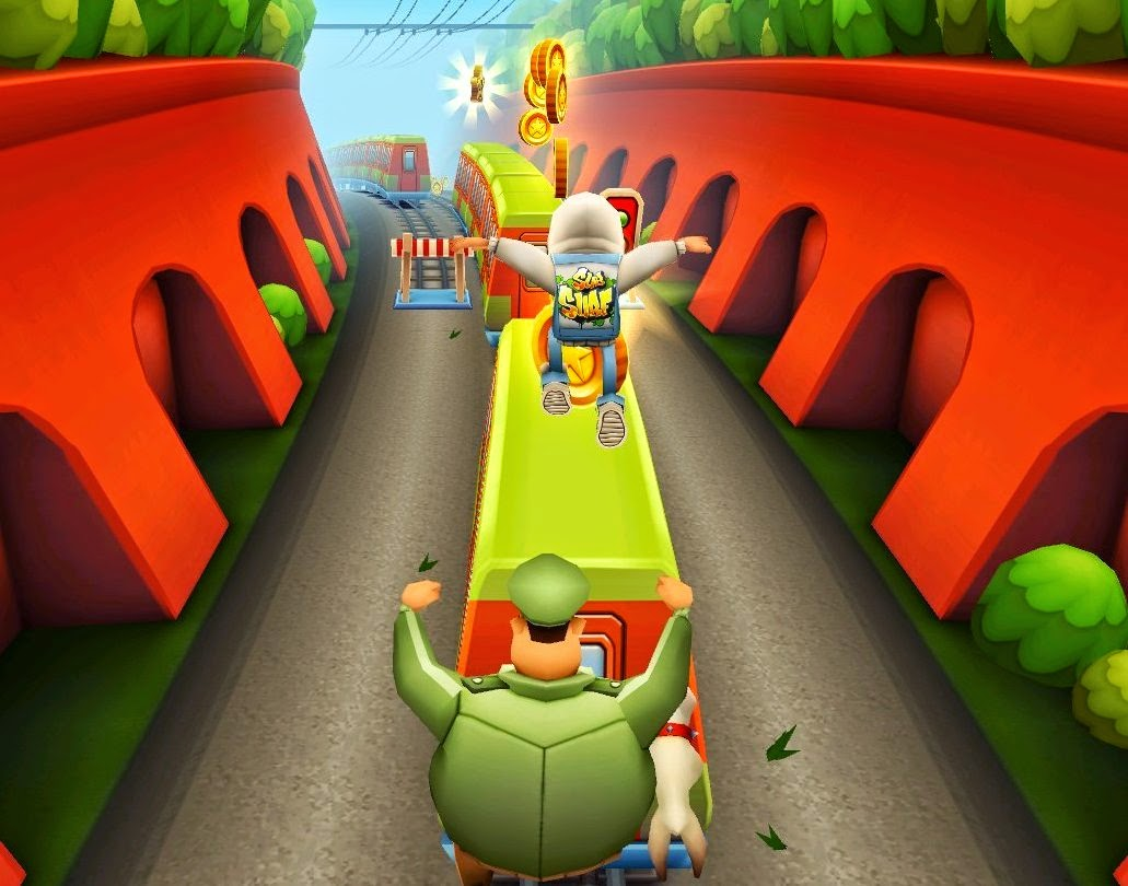 Download New Subway Surfers 2012 For PC Games Free Full Crack