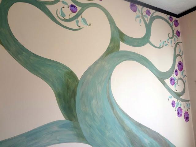 tree of life mural
