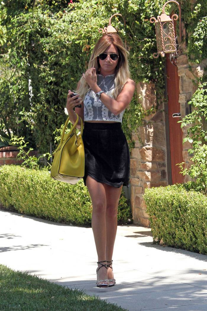 Ashley Tisdale Out and About in Los Angeles