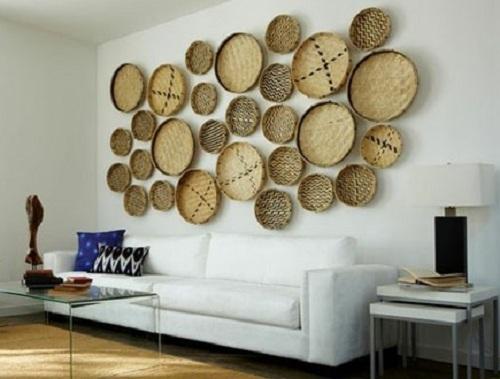 I d e a cestas mimbre for Cestas decoracion