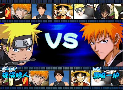 Free download game anime fighting 1 0 naruto vs bleach vs one piece