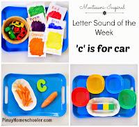 Letter 'c' Sound Activities
