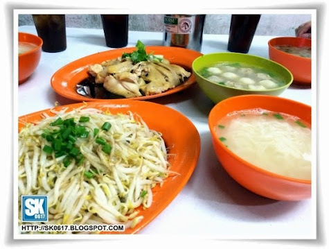 The Famous Chicken Rice in Ipoh