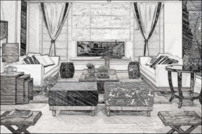 design de interiores - sala residencial