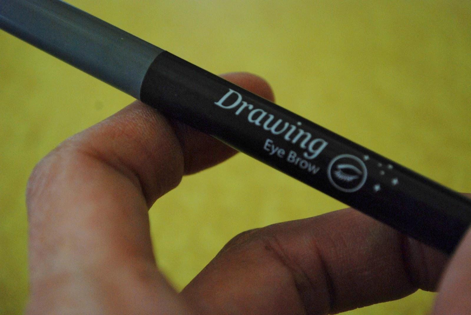 Etude House Drawing Eye Brow Pencil 6 Grey Vs Maybelline Master Eyebrow Shape Dark Brown