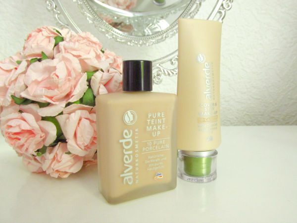 alverde Pure Teint Makeup & Cover&Stay Makeup