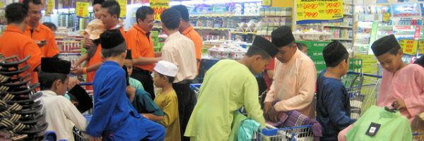 Perayaan Di Malaysia Persiapan Hari Raya Aidilfitri