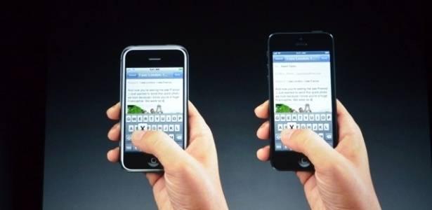 Apple aumenta tela do iPhone 5
