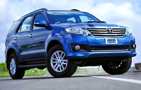 Toyota Fortuner 2013 Price