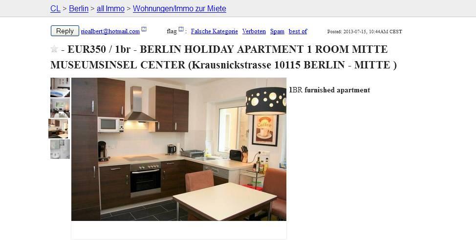apartment craigslist