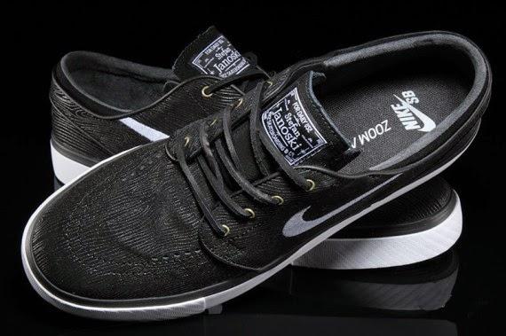 "Nike SB Stefan Janoski ""Black Woodgrain"""