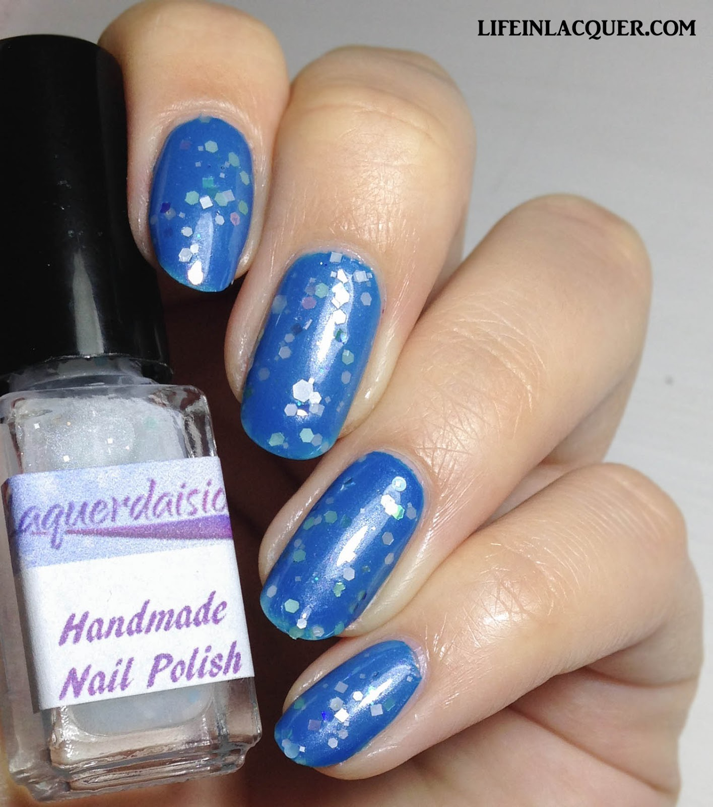 Laquerdaisical Frosted Fancy Review and Swatches indie