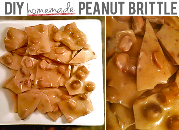 Homemade Peanut Brittle Recipe // Bubby & Bean