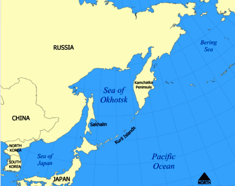 Japan Map Bodies Of Water - Japan map bodies of water