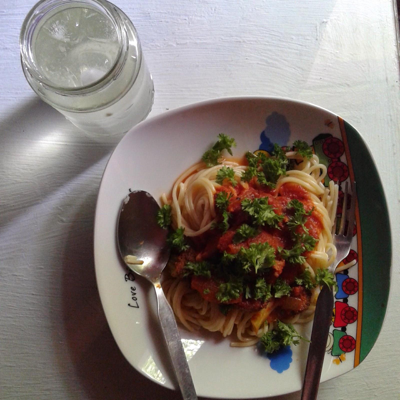 kuah spageti