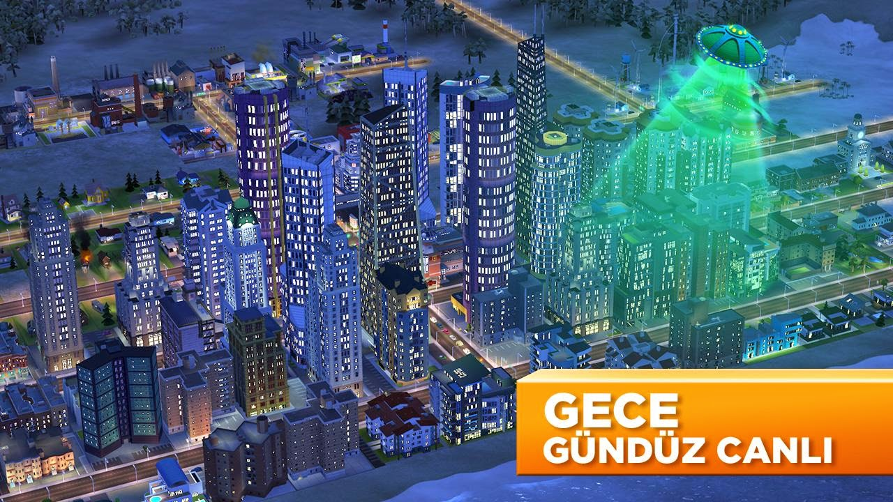 SimCity Build It Hile Mod Apk Android
