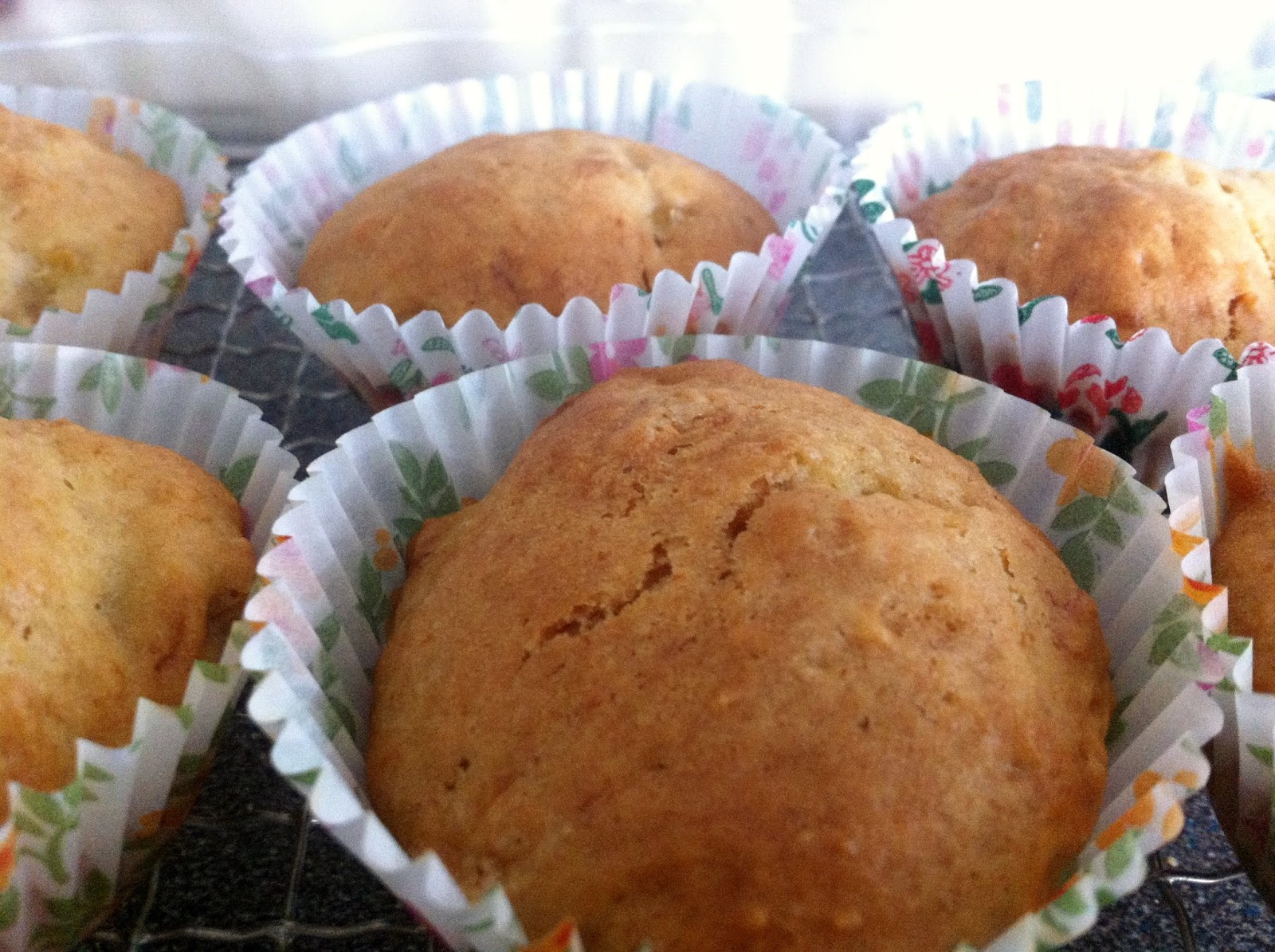 Makeup-Of-Mine: Easy Banana Muffins