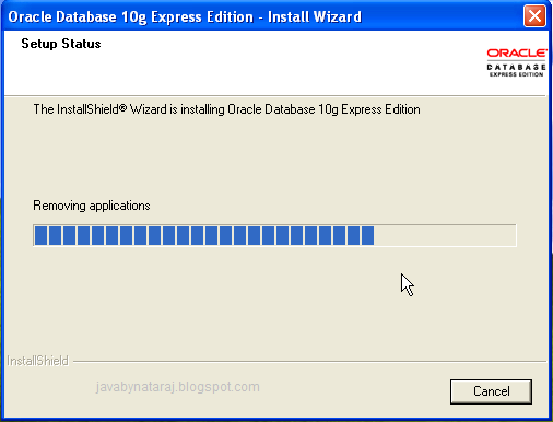 Installing Oracle Database 10g Express Edition_010