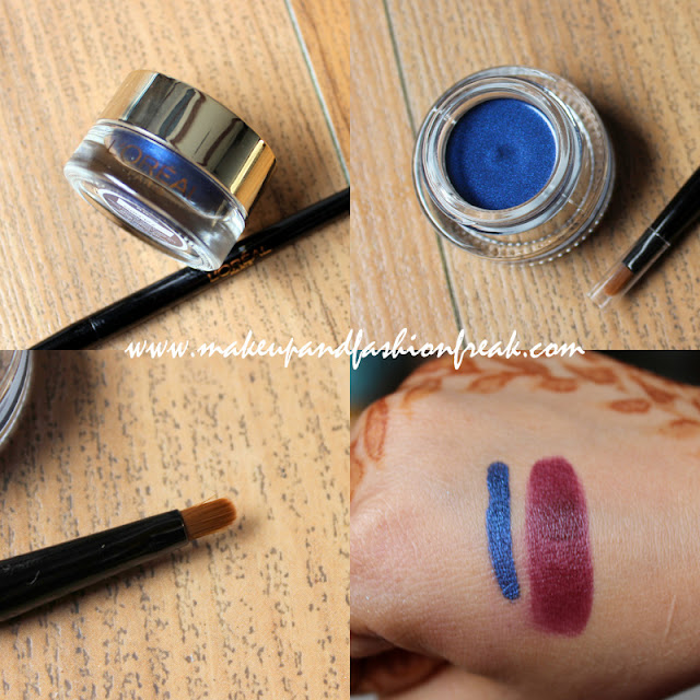 L'oreal Gel Intenza 36H Eyeliner in Royal Blue