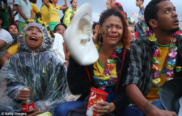 Brazil Fans FIFA 2014