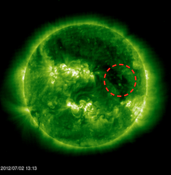 Alien cube mothership caught in soho nasa photos july 2 2012