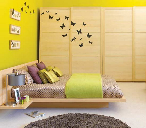Bedroom wall decorating ideas home design architecture - Wall decoration ideas for bedroom ...