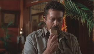 Tim Curry as Herkemer Homolka in Congo sesame cake