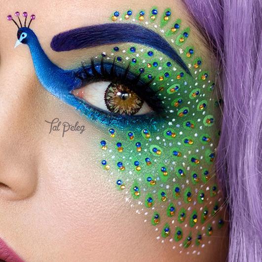 Arte del maquillaje por Tal Peleg