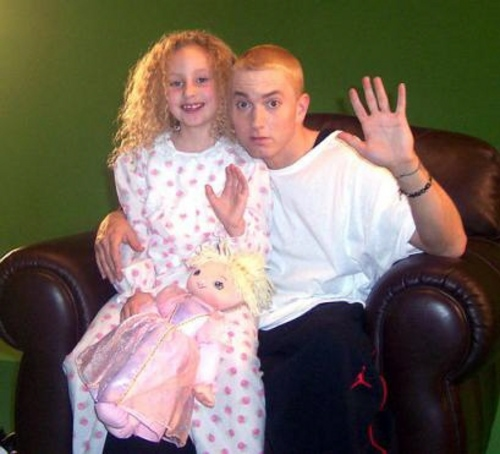 Pics Of EminemEminem And His Daughter Hailie