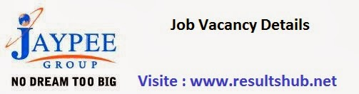 Jaypee Group Recruitment Dec 2013