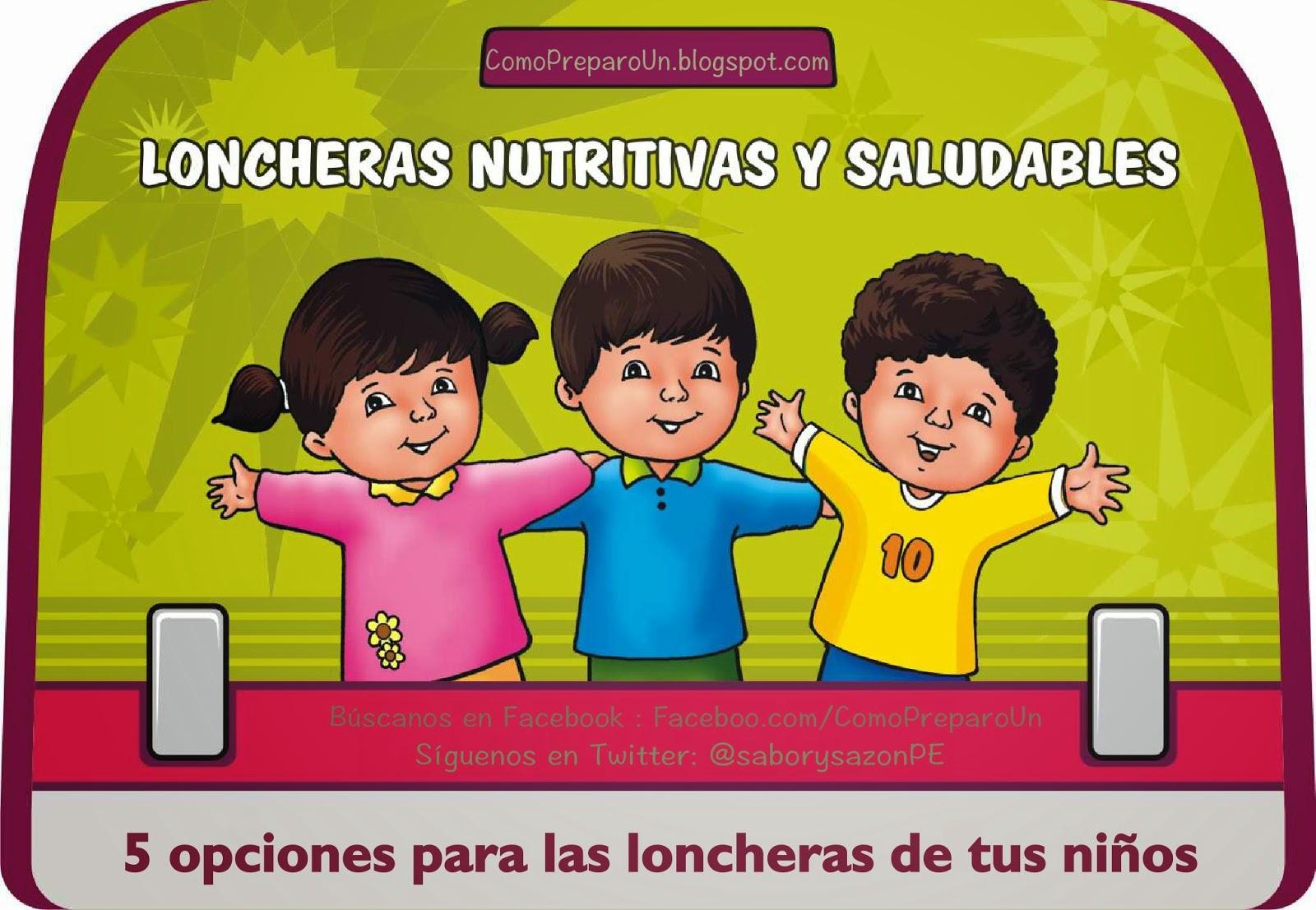 Loncheras nutritivas y saludables para ni os lunes for Comida saludable para ninos