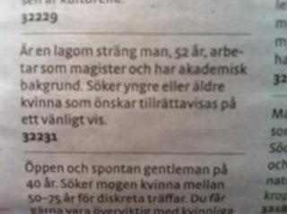 kontaktannonser roliga Aarhus