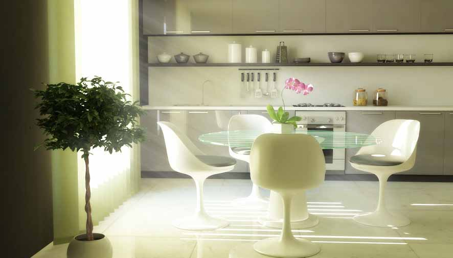 desain ruang dapur desain rak dapur terbuka dan kabinet