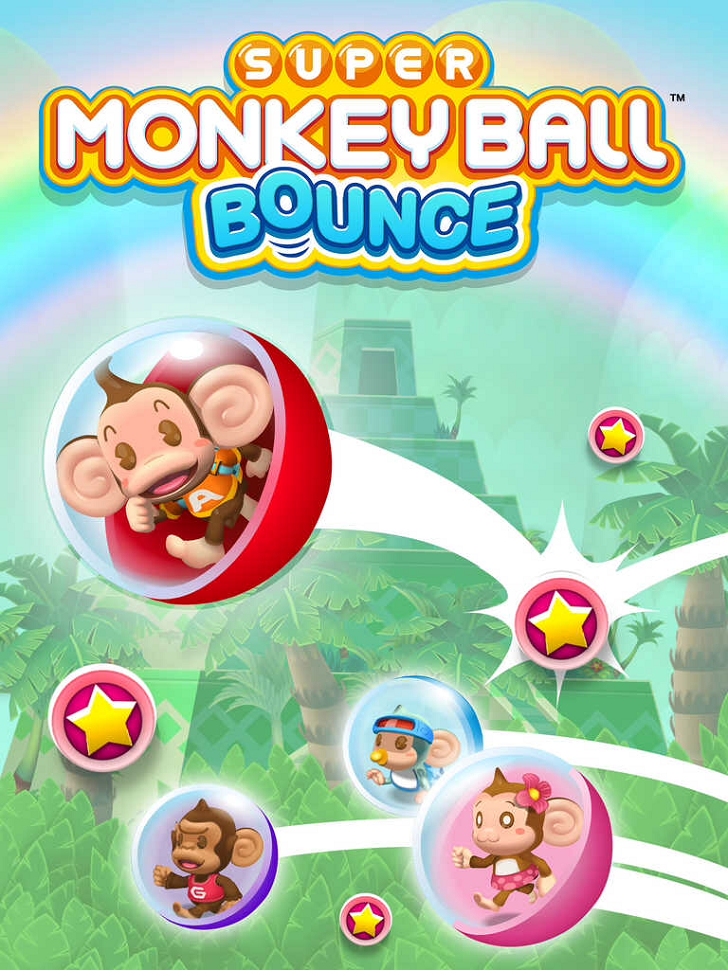 Super Monkey Ball Bounce Free App Game By SEGA