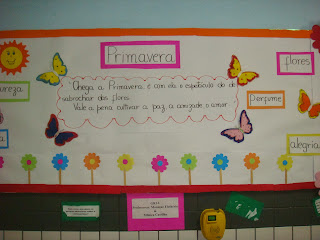 Coisas Miúdas Ideias Para Montar Murais Da Primavera Entre Outras