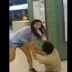 Girlfriend Drags  Cellphone-addicted Boyfriend Inside the Subway Train. WATCH THE VIDEO