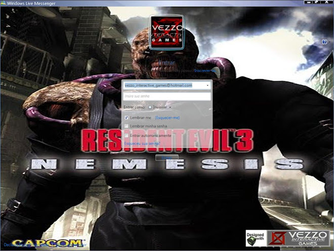 Download Skin-Msn 2009 - Resident Evil 3 - Nemesis