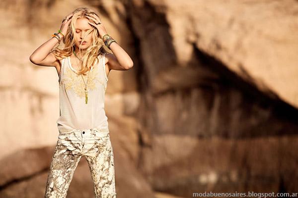 Pantalones de verano 2015 moda India Style.